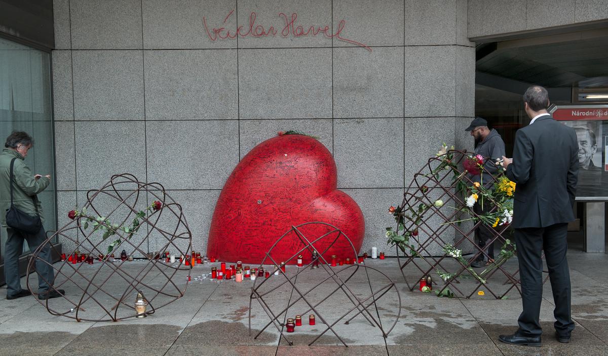 Václav Havel má v Praze náměstí.