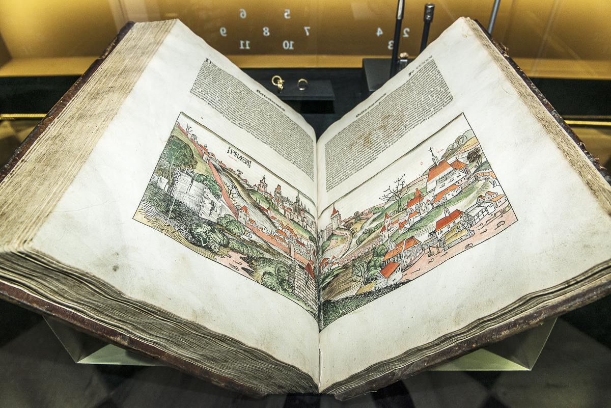 Nejstarší vyobrazení hlavního města Českého královstní Prahy, 1493