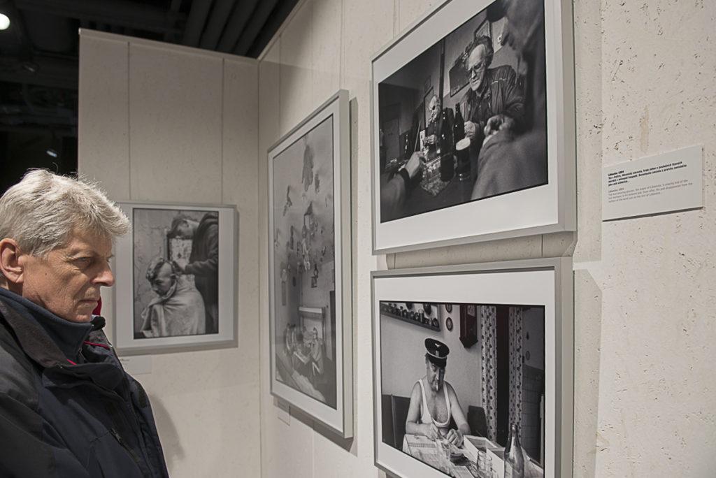 Jaroslav Kučera vystavuje cyklus Sudety v CZECH PHOTO CENTRE, foto: Petr Šálek