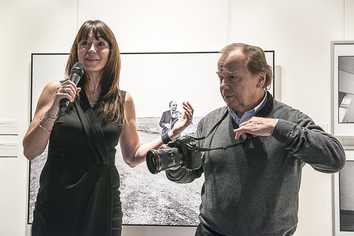Veronika Souralová a Jaroslav Kučera při slavnostní vernisáži 6.12.2016, foto: Petr Šálek