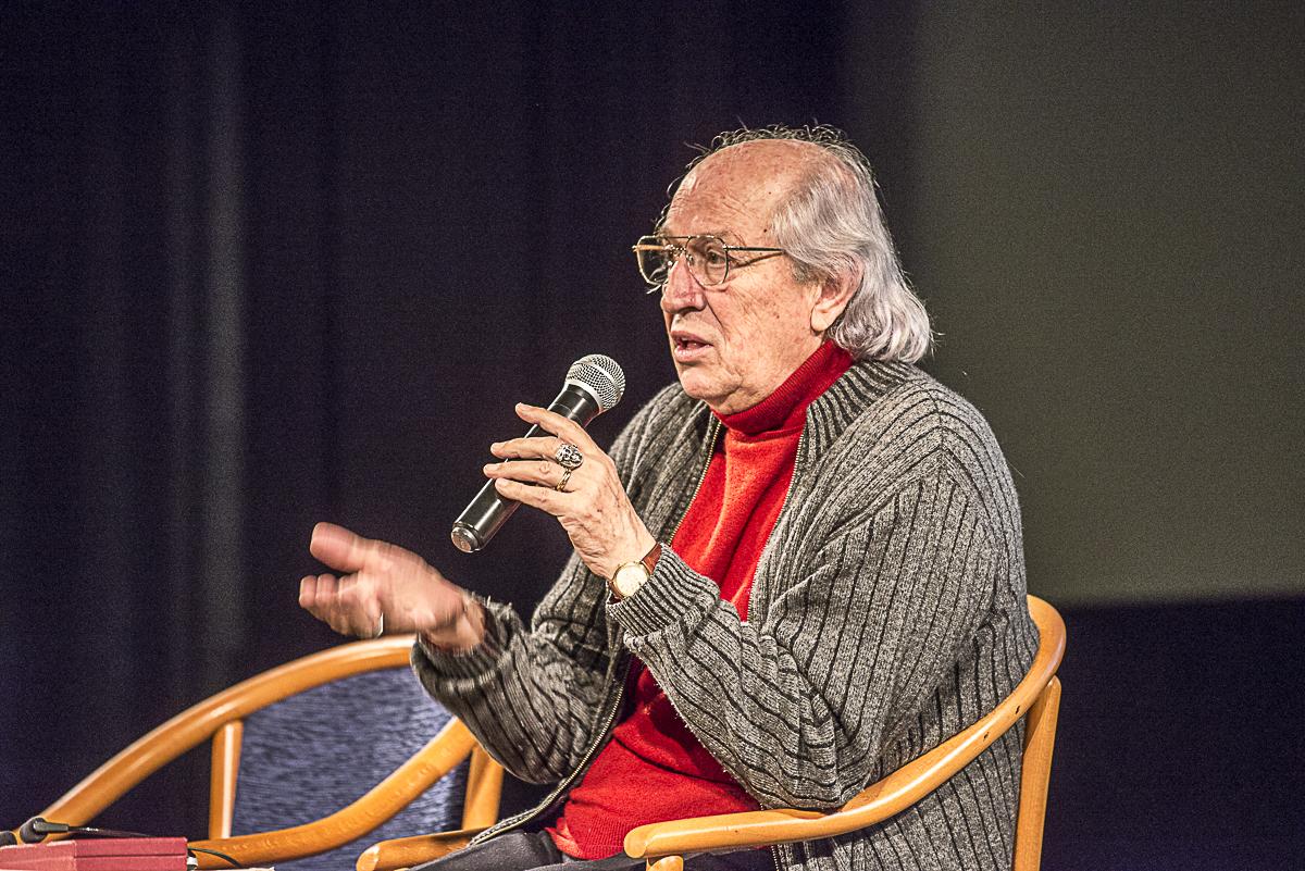 Vittorio Storaro v Městské knihově v Praze