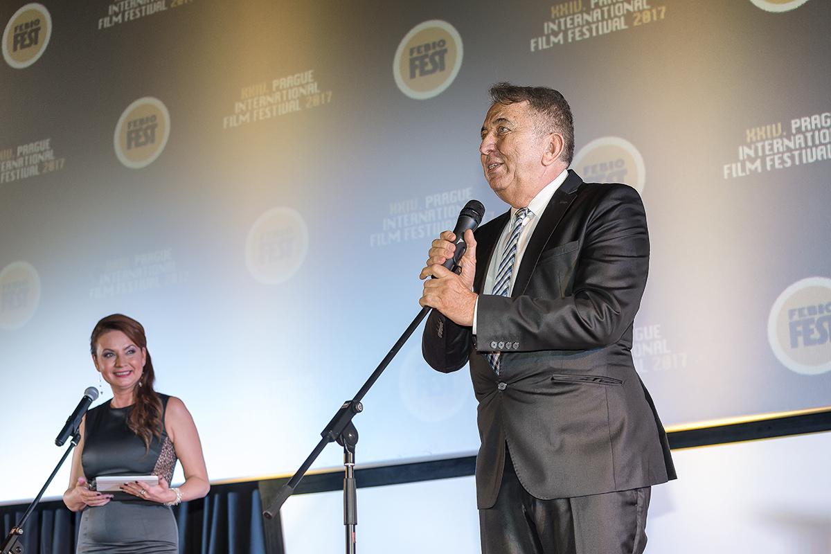 Febiofest 2017 – režisér a hudebník Emir Kusturica získal cenu Kristian zapřínos světové kinematografii