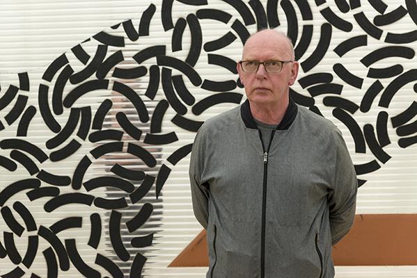 Britský sochař Richard Deacon, foto: Petr Šálek