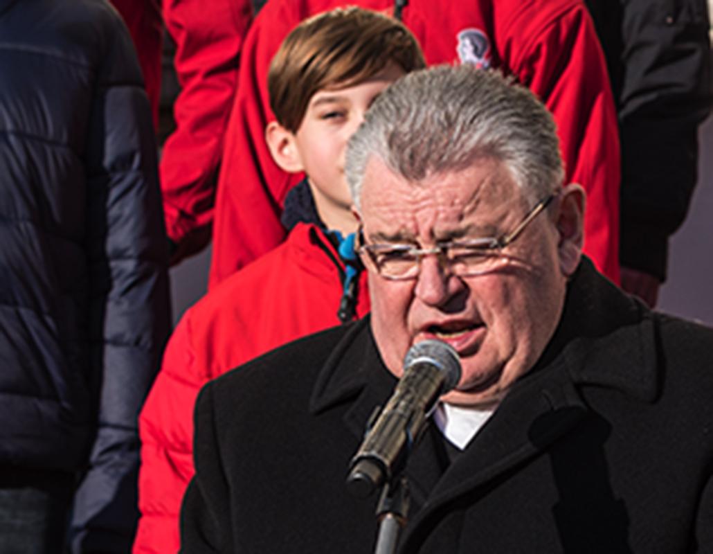 Šest let od úmrtí Václava Havla připomenulo setkání před pražským Arcibiskupstvím