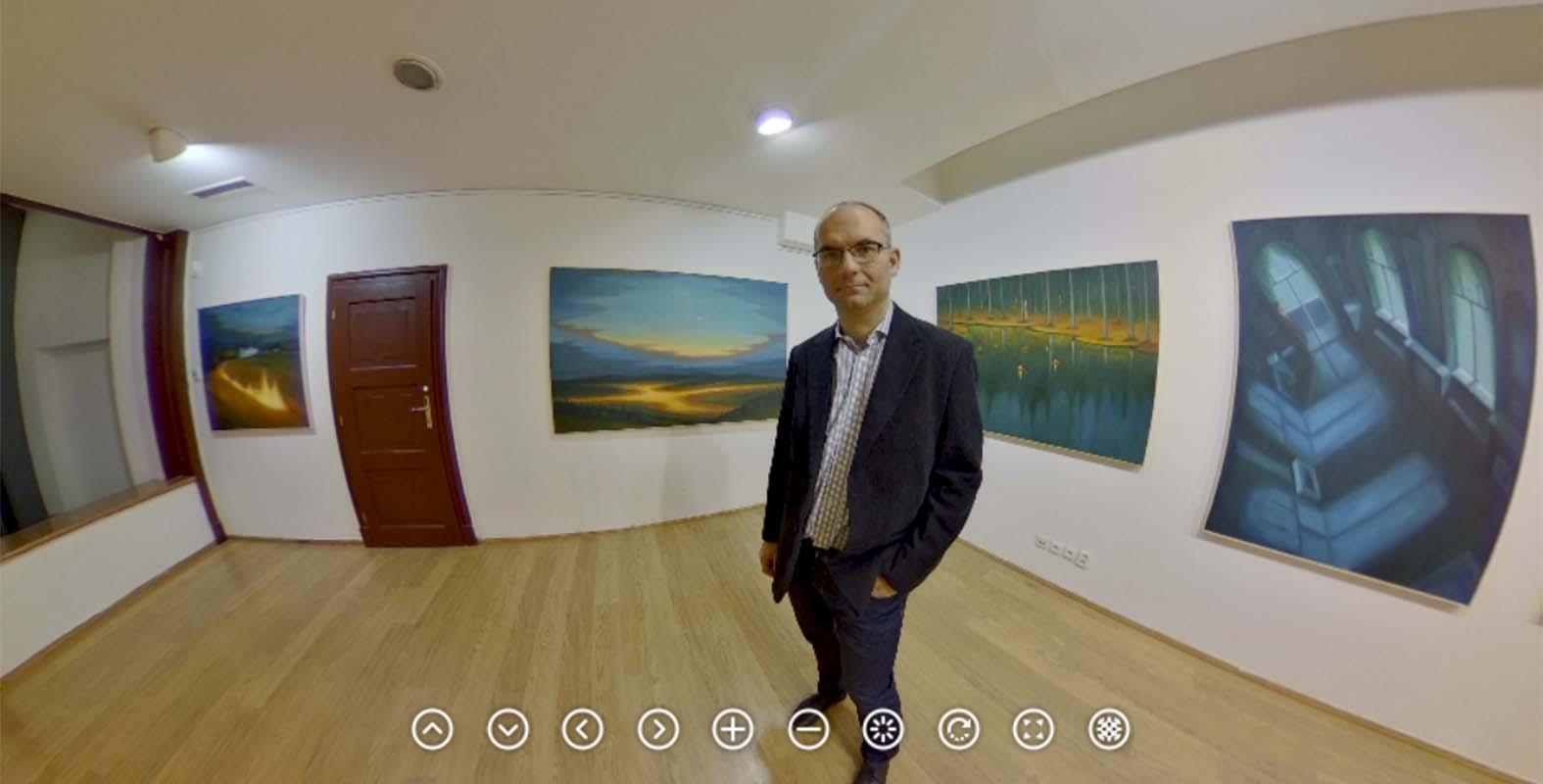 Jaroslav Valečka vystavuje vGalerii kritiků