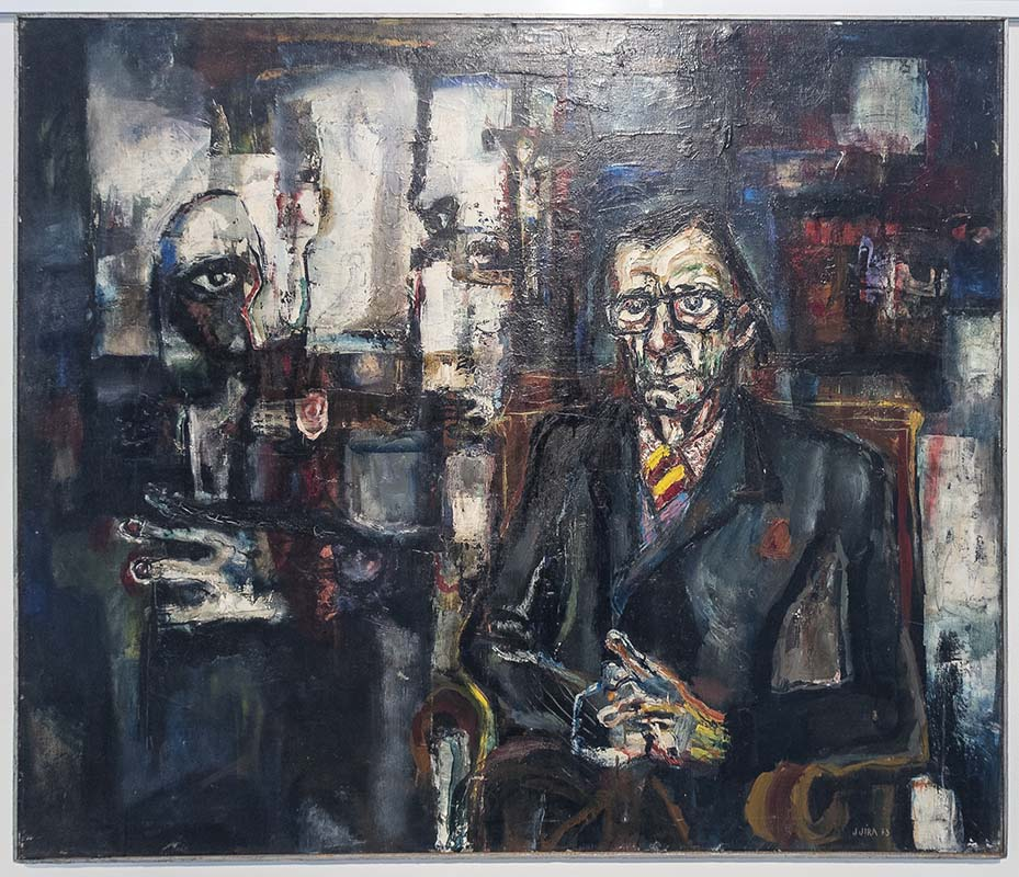 Malíř Josef Jíra a jeho Divadlo světa vOblastní galerii v Liberci