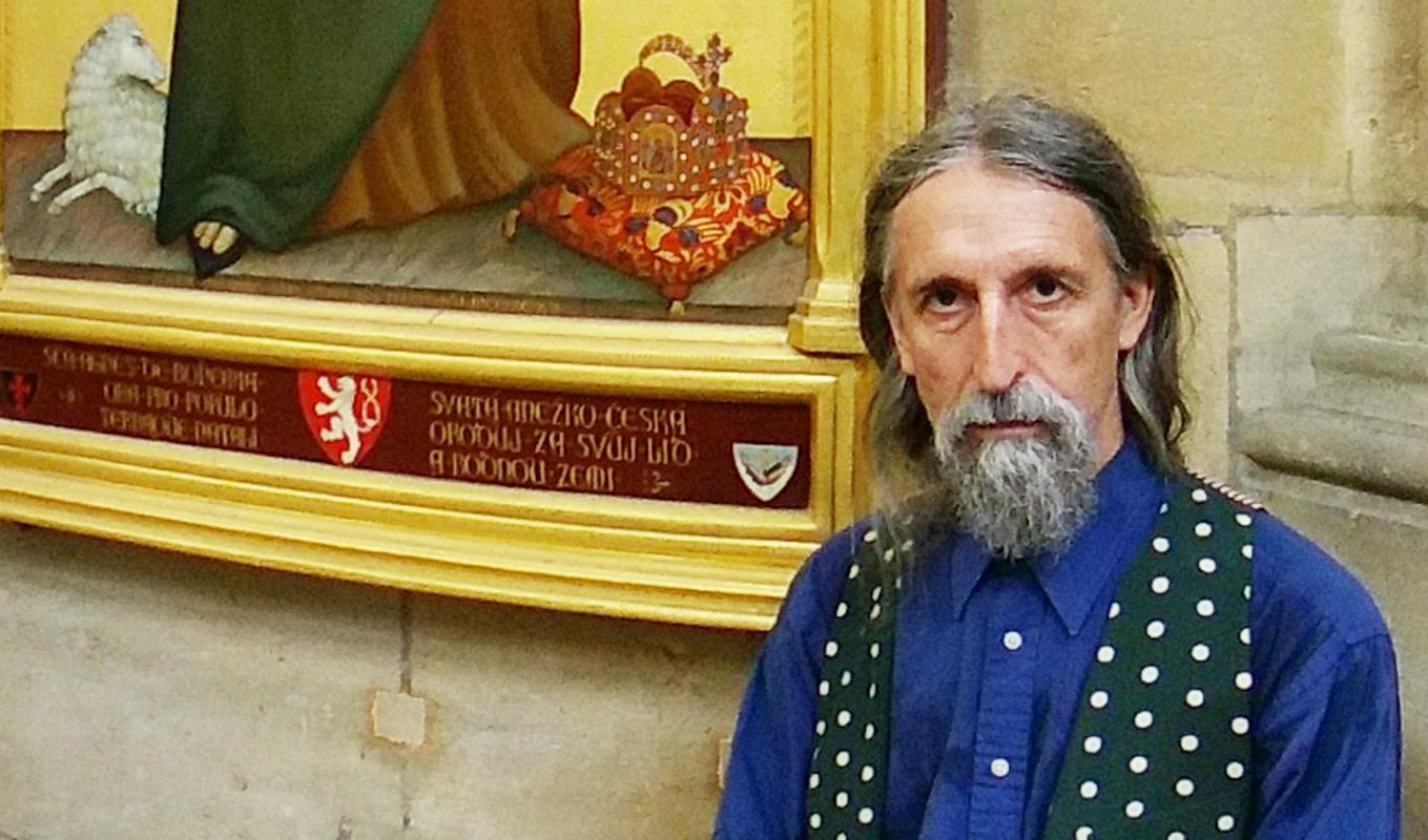 Makarius Tauc a jeho obraz svaté Anežky České v Katedrále sv. Víta, Vojtěcha a Václava v Praze