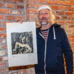 Vladimír Brunton vypráví, jak vznikla jeho série fotografií sJanem Saudkem a modelkou