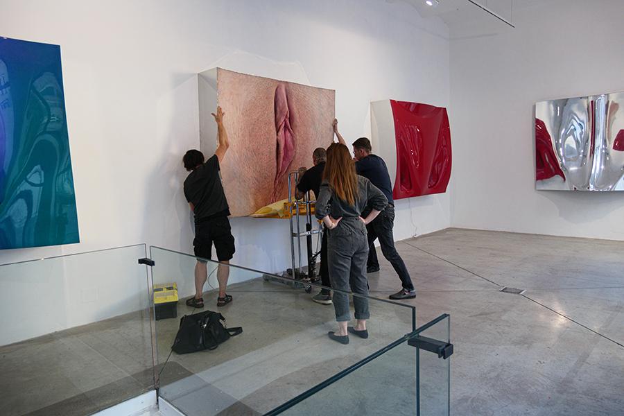 David Černý vystavuje Poslední práce v DSC Gallery
