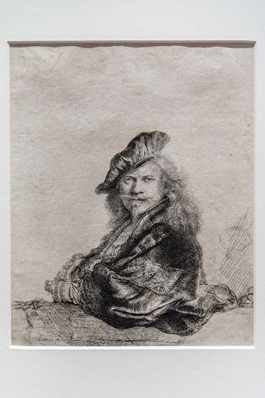 Rembrandtovská výstava vpaláci Kinských potrvá až do 21. března 2021