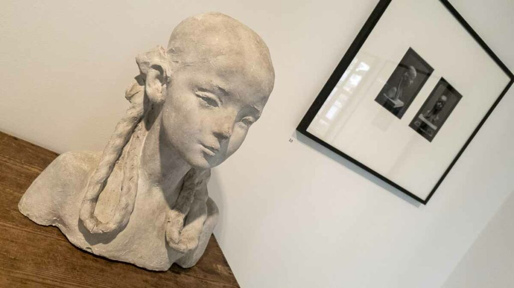 Výstava Josef Sudek Na návštěvě u Hany Wichterlové